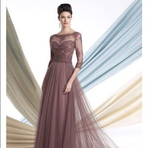 Evening gown by Montage of Mon Cheri